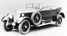 After the fusion of Daimler-Motoren-Gesellschaft with Benz & Cie. into Mercedes Benz AG it was renamed to Type 400 and produced with only little changes until 1929 Mercedes Benz Forum, Old Mercedes, Daimler Benz, Power Cars, Old Cars, Antique Cars, Classic Cars, Motorcycles, Truck