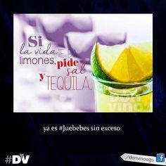 Si la vida te da limones, pide Sal y Tequila