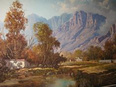 CLOSE-UP Art For Art Sake, All Art, South African Art, Diamonds And Gold, Cool Landscapes, True Beauty, Landscape Art, Illusions, Creative