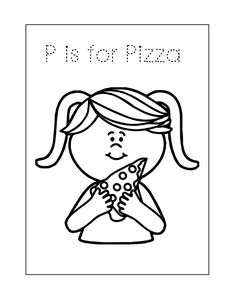 Pizza Coloring Page, Food Coloring Pages, Bear Coloring Pages, Pizza Chef, Make Your Own Pizza, Pizza Delivery, Pizza Dough, Lunches And Dinners, Yummy Food