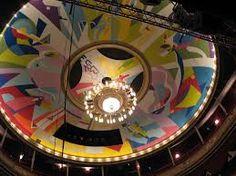 stadsschouwburg Groningen Niet iedereen waardeert dit plafond....