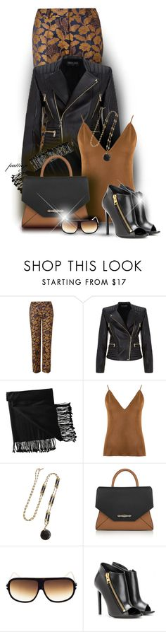 """""""Open Toe Booties"""" by rockreborn ❤ liked on Polyvore featuring Orla Kiely, Balmain, New Directions, Gig, Isabel Marant, Givenchy and Tom Ford"""