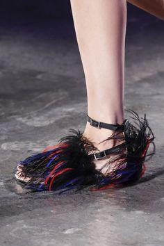 Les chaussures du défilé Emilio Pucci printemps-été 2016