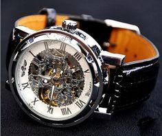 Steampunk Mechanical Watch Vintage Style Men's by handworld, $15.99