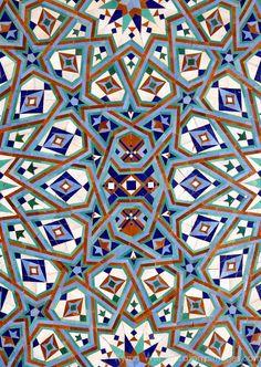 Morocco Hassan II Mosque mosaic Islamic tile detail Canvas Art - Kymri Wilt DanitaDelimont x Tile Patterns, Pattern Art, Print Patterns, Floor Patterns, Islamic Art Pattern, Arabic Pattern, Moroccan Art, Turkish Art, Mosaic Wall