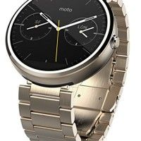 Motorola Moto 360 - Champagne Gold Metal, 23mm, Smart Watch http://themarketplacespot.com/wp-content/uploads/2015/10/51erQrmvnvL-200x200.jpg   Moto 360 is a modern timepiece powered by Android Wear. Comfortable, familiar, and crafted with the finest materials, Moto 360 keeps you up to date without taking you away from the moment. Glance at your wrist to see updates or just speak to get the info you need. Because it's time a watch told you more than just the time. features a 1
