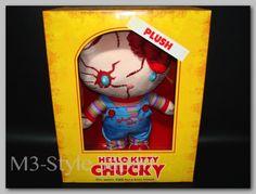 HELLO KITTY &CHUCKY Plush Doll Figure USJ Limited Edition Universal JAPAN Rare