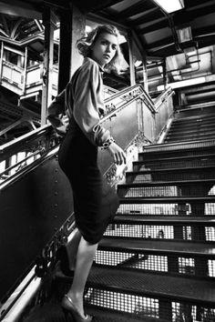 Arizona Muse for british Vogue