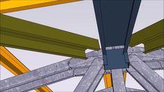 FrameBuilder-MRD Hip Roof - YouTube Beautiful Hips, Hip Roof, Modular Homes, Steel Frame, Design Design, Youtube, Youtubers, Modular Housing, Youtube Movies