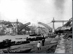 Gustave Eiffel, Ponte Pensil, Douro, Brooklyn Bridge, Country, World, Travel, Cards, Past