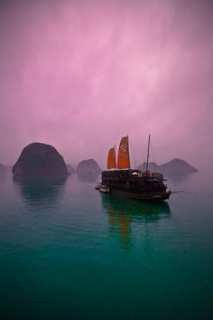 Misty Ha Long Bay, Vietnam | by Hung le Van on 500px