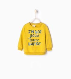 sweatshirt from Zara