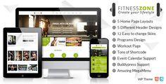 Fitness Zone   Sports, Health, Gym & Fitness Theme  (WordPress, Retail, Health & Beauty)