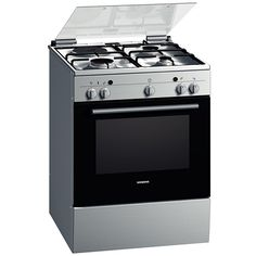Professionally equipped for cooking, baking, frying and roasting with the efficient combination of gas oven and gas cooktop.