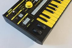 Korg MicroKORG went back to the 70's to make sweet love with a EDP Wasp synth, the MicroWasp, above, might be their love child.