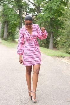 Beaute' J'adore: DIY little silk wrap dress butterick 5454