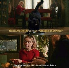 The Chilling Adventures of Sabrina Series Movies, Movies And Tv Shows, Tv Series, Netflix Quotes, Teen Witch, Sabrina Spellman, Movie Lines, Supernatural Funny, Tv Show Quotes