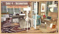 Cozy Living Room II at Dinha Gamer via Sims 4 Updates