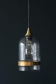 Brass Ribbon Ceiling Light