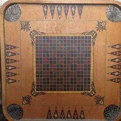 Antique Vintage Carrom Crokinole Deluxe by GrannieLsCloset on Etsy, $45.00