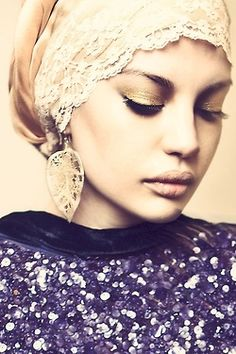 so sweet! where can I find this turban or how do I make my own?