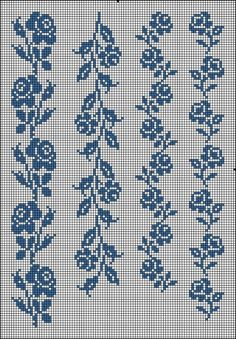 Hanna Liponen's media content and analytics Cross Stitch Bookmarks, Cross Stitch Borders, Cross Stitch Rose, Cross Stitch Flowers, Cross Stitch Charts, Cross Stitch Designs, Cross Stitching, Cross Stitch Embroidery, Embroidery Patterns