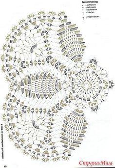 Вязание крючком. Салфетки. — Фото   OK.RU Crochet Art, Thread Crochet, Crochet Motif, Crochet Doilies, Doily Patterns, Crochet Patterns, Cross Stitch Patterns, Crochet Table Runner Pattern, Crochet Potholders