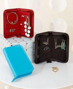Vegan Leather Travel Jewelry Case Jewelry Organizer Travel