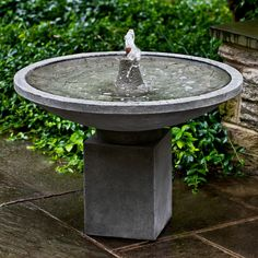 Campania International Autumn Leaves Outdoor Fountain - FT-234 - NATURAL