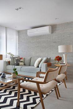 Beige Living Rooms, Cozy Living Rooms, Home Living Room, Living Room Decor, Living Room Sofa Design, Home Room Design, Dining Room Design, Sala Grande, Apartment Interior Design