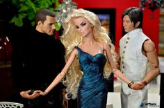 1/6 Scale Fashion Royalty Vanessa 'Edge' with Justin Timberlake and Nicholas Tse