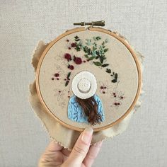 Awesome Most Popular Embroidery Patterns Ideas. Most Popular Embroidery Patterns Ideas. Embroidery Hoop Art, Hand Embroidery Patterns, Ribbon Embroidery, Cross Stitch Embroidery, Embroidery Sampler, Brazilian Embroidery, Needlework, Sewing Projects, Creations