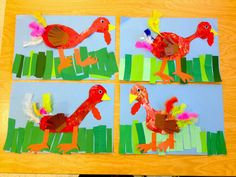 Art with Mr. Giannetto: Kindergarten Turkeys