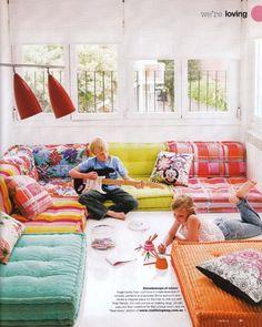 Roche Bobois floor cushions