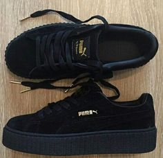 800e0fccbe3c Follow  QueenSavage98 for more 😜😜😜 Black Puma Creepers