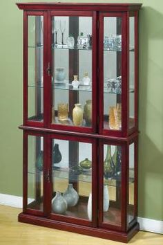 Standard Furniture Woodmont Display Curio   Dinning Room plans ...
