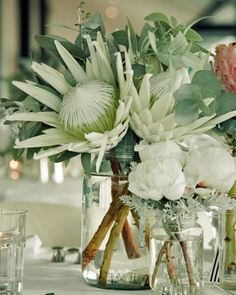 White King Protea Flower Arrangement