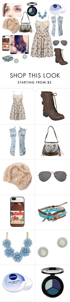 """""""Sweetness"""" by gingy333 ❤ liked on Polyvore featuring Hailey Jeans Co., VILA, Billabong, Sheriff&Cherry, AT&T, Aéropostale, ALDO, LOFT, Nivea and Smashbox"""