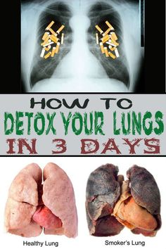 How to detox your lungs in 3 days