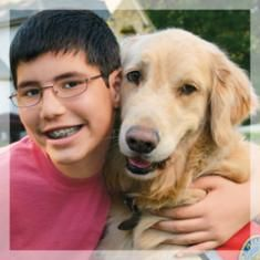 A Story of a Dog's Devotion Brings Healing to a young victim of FAS - Guideposts - Beshert - God's Will