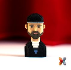 Woodkid ! #leblox #pixelart #3Dprinting #tribute #Woodkid #The GoldenAge
