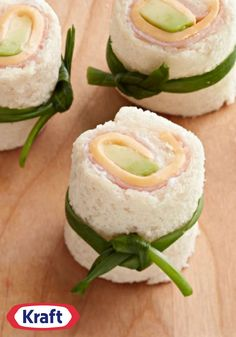 Kid-Style Sushi – Know any kids who think sushi looks cool (but tastes icky)? Roll their favorite sandwich ingredients in flattened white bread instead! They're sure to enjoy the fun spin on lunchtime—especially during back-to-school.