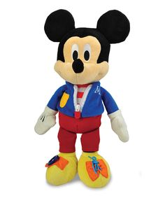Look what I found on #zulily! Mickey Mouse Dress-And-Play Plush Toy by Disney Baby #zulilyfinds
