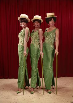 The Supremes, 1960s.