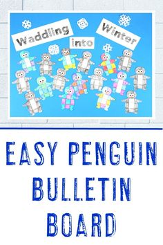 Penguin activities are loads of fun for students. With the math puzzles, bulletin board idea, and books included here - you're sure to find something great! 5th Grade Classroom, Middle School Classroom, Tot School, Halloween Math, Math Centers, Penguins, Winter Months, Critical Thinking, Just For You