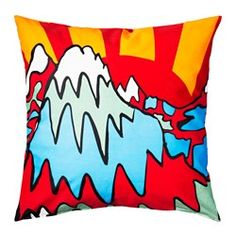 IKEA - SPRIDD, Cushion cover, Embroidery adds texture and luster to the cushion.The zipper makes the cover easy to remove. Cushions Ikea, Quilting Projects, Home Furnishings, Bed Pillows, Pillow Cases, Finding Yourself, Kids Room, Quilts, Luster