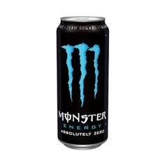 Monster Lo-carb Energy Can 500 Ml (pack Of 12) ($47) ❤ liked on Polyvore featuring drinks, food and monster