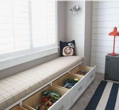 Playroom Bench, Playroom Closet, Ikea Playroom, Small Playroom, Playroom Design, Kids Room Design, Ikea Kids, Playroom Ideas, Ikea Toy Storage