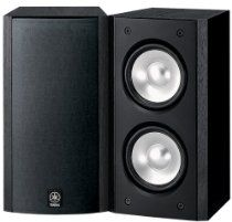 Black Friday 2014 Yamaha Full-Range Acoustic Suspension Bookshelf Speaker - Each (Black) from Yamaha Cyber Monday
