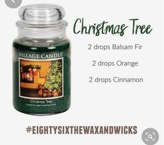Get rid of your toxic Christmas tree candle with this diffuser blend! Essential Oil Candles, Essential Oil Diffuser Blends, Doterra Essential Oils, Doterra Oil, Essential Oil Combinations, Diffuser Recipes, Living Oils, Young Living, Christmas Tree Essential Oil Blend